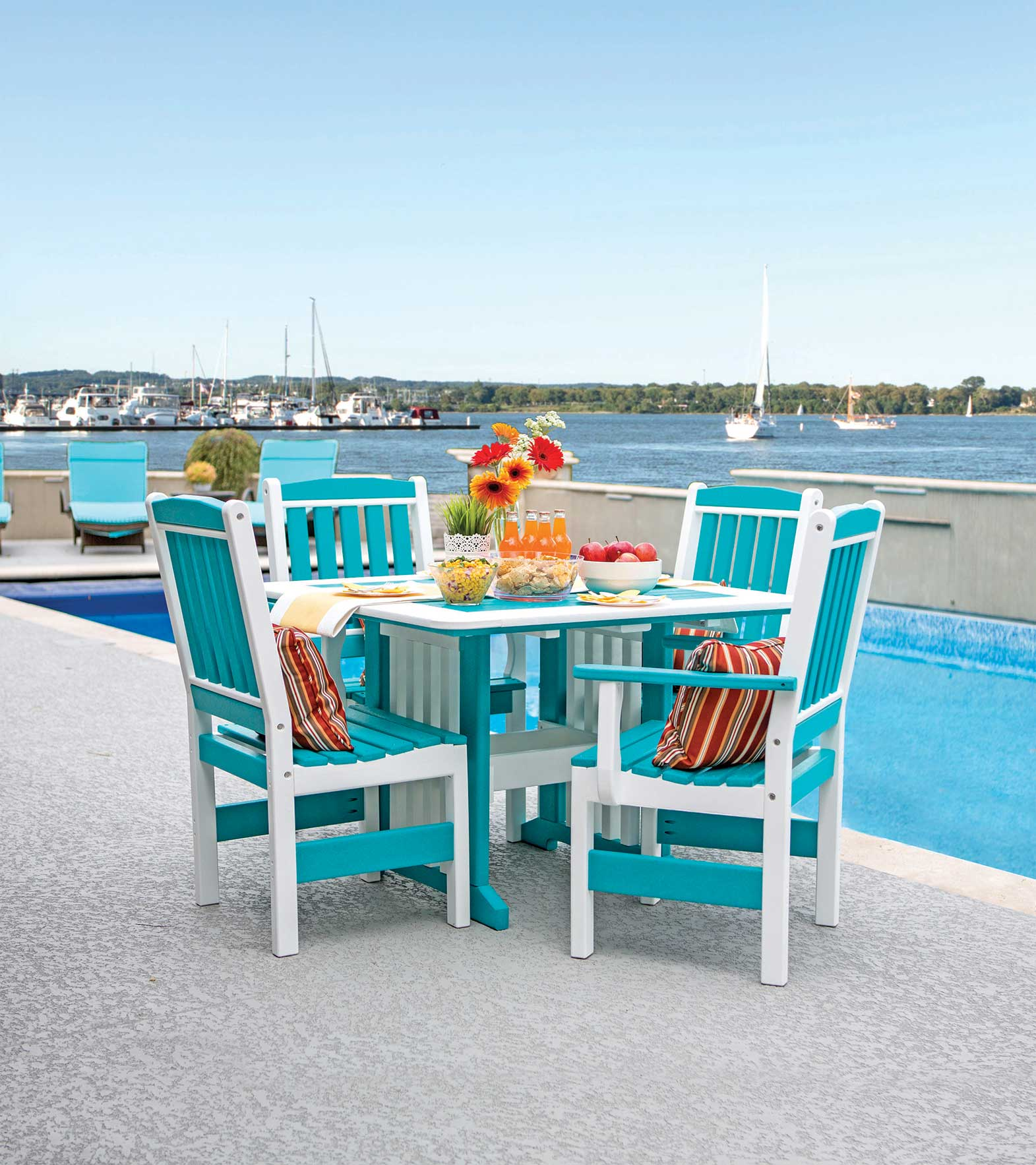 English-Garden-Table-Turquoise1-high-quality