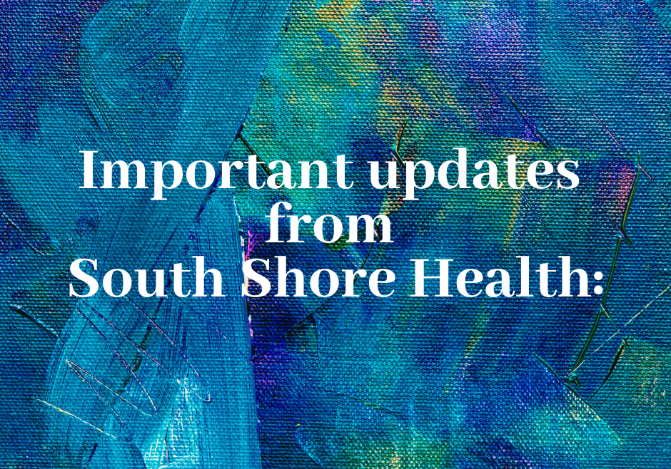 South Shore Health Updates